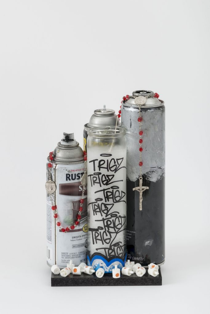 Spray Can Altar © Emerald Art Studio